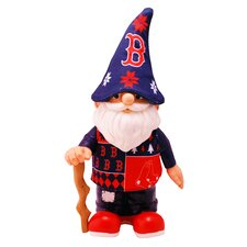 Boston Red Sox Real Ugly Sweater Gnome Figurine