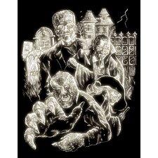 Glow Monster Art Engraving (Set of 2)