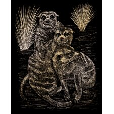 Meer Cats Art Engraving (Set of 2)