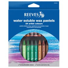 Water Soluble Wax Pastel (Set of 24)