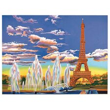 Paint By Numbers Large Eiffel Tower Painting