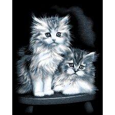 Fluffy Kittens Scraperfoil
