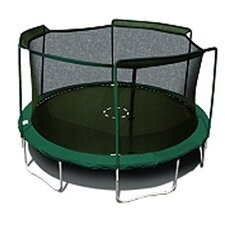 15' Round Trampoline Net Using 3 Arches