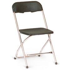 Chrome Series 5 Plastic Folding Chair (Set of 10)