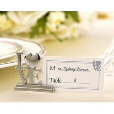Love Place Card Holder / Photo Holder (Set of 32)