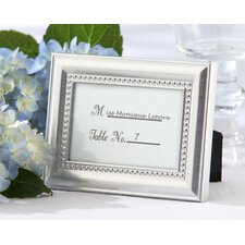 Beautifully Beaded Photo Frame / Place Card Holder (Set of 24)