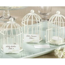 Spring Song Birdcage Tealight / Place Card Holder (Set of 8)