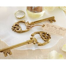 Key to My Heart Bottle Opener (Set of 12)