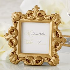 Royal Gold Baroque Place Card / Photo Holder (Set of 15)