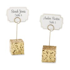 Glitter Place Card Holder (Set of 18)