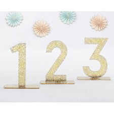 Acrylic Table Number (Set of 6)