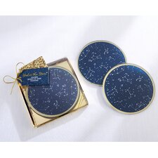 Under the Stars Glass Coaster (Set of 24)