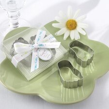 ''Pitter-Patter of Little Feet'' Baby Footprint Cookie Cutters (Set of 12)