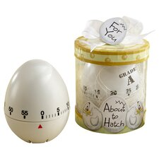 ''About to Hatch'' Kitchen Egg Timer in Showcase Gift Box (Set of 6)