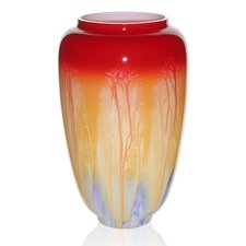 Hand Painted Glass Retro Series I Vase