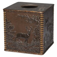 Rustic Montage Tissue Box Cover