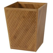 Spa Bamboo Waste Basket