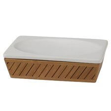 Spa Bamboo Soap Dish