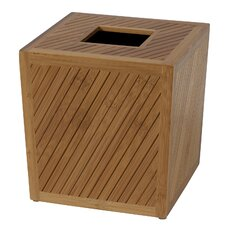 Spa Bamboo Tissue Box