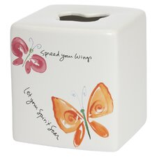 Flutterby Tissue Box Cover