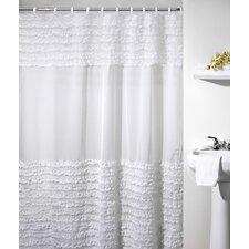 Ruffles Polyester Shower Curtain