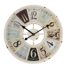Hometime 40cm Retro Look Wall Clock