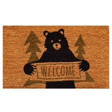 Bear Greeting Doormat