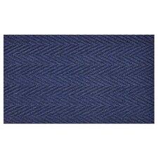 Hobnail Blue Doormat