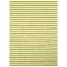 Lime Stripe Indoor/Outdoor Rug
