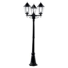 3 Light 195cm Post and Lantern Set