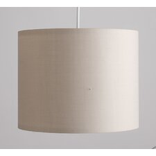 25cm Rolla Cotton Drum Pendant Shade