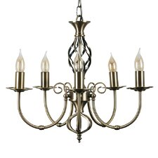 Memphis 5 Light  Candle Chandelier