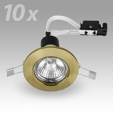Steel Fixed 8.7cm Downlight (Set of 10)