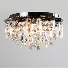 5 Light Flush Ceiling Light