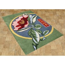 Alliyah Forest Green Area Rug