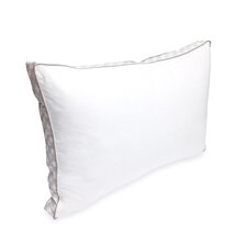 Laundry Printed Gusset Microfeather Queen Pillow