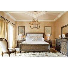 Renaissance Upholstered Platform Customizable Bedroom Set