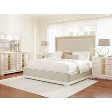 Tower Suite Upholstered Platform Customizable Bedroom Set