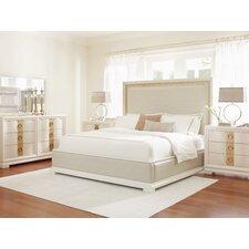 Tower Suite Upholstered Platform Customizable Bedroom Set