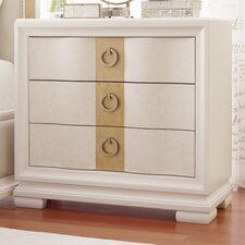 Tower Suite 3 Drawer Nightstand