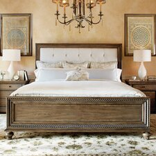 Renaissance Upholstered Panel Bed