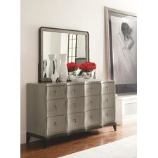 Symphony 9 Drawer Dresser with Mirror