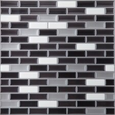 Magic Gel Glass Glazed Mosaic in Spectrum Metallic