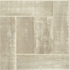 "Nexus 12"" x 12"" x 1.2mm Vinyl Tile in Beige (Set of 20)"