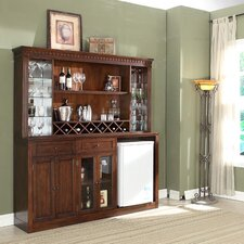 Manchester Back Bar with Wine Storage