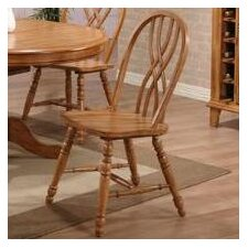 Rustic Oak Dining Chair (Set of 2)