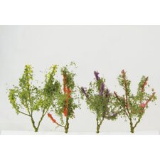 Architectural Model Flower Trees (Set of 16)