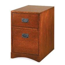 Mission Pasadena 2-Drawer Mobile File Cabinet
