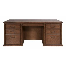 Huntington Oxford Double Pedestal Executive Desk