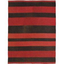 Bohemian Dark Red Patchwork Area Rug